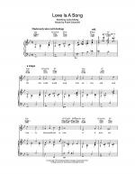 Love Is A Song (from Walt Disney's Bambi) Sheet Music