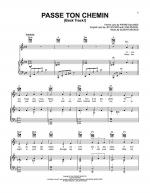 Passe Ton Chemin (Back Track!) Sheet Music