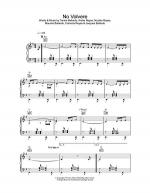 No Volvere Sheet Music