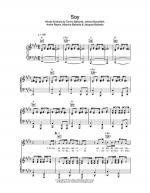 Soy Sheet Music