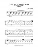 Moonlight Sonata Sheet Music