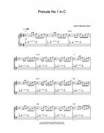 Prelude No.1 In C Sheet Music