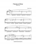 Prelude In E Minor, Op. 28, No. 4 Sheet Music