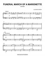 Funeral March Of A Marionette Sheet Music