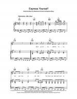 Express Yourself Sheet Music