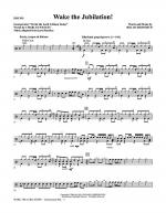 Wake The Jubilation! - Drums Sheet Music