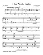I Hear America Singing - Synthesizer Sheet Music