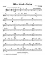 I Hear America Singing - Guitar Sheet Music