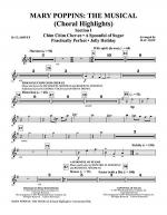 Mary Poppins: The Musical - Clarinet Sheet Music