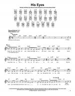 His Eyes Sheet Music