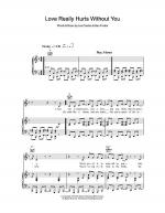 Love Really Hurts Without You Sheet Music