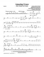 Amazing Grace (My Chains Are Gone) - Drums Sheet Music