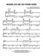 Where Do We Go From Here Sheet Music