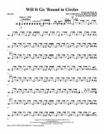 Will It Go Round In Circles - Drums Sheet Music