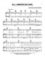 All-American Girl Sheet Music