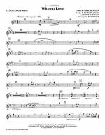Without Love - Tenor Sax Sheet Music