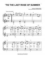 'Tis The Last Rose Of Summer Sheet Music