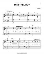 Minstrel Boy Sheet Music