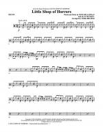 Little Shop Of Horrors - Drums Sheet Music