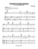 Transylvania Mania Sheet Music