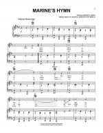 Marine's Hymn Sheet Music