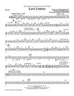 Love Letters - Drums Sheet Music