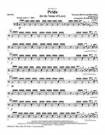 Pride (In The Name Of Love) - Drums Sheet Music