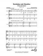 Rozhinkes Mit Mandlen (Raisins And Almonds) Sheet Music