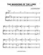 The Mansions Of The Lord Sheet Music
