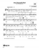 Am Yisraeil Chai (The Jewish People Live) Sheet Music