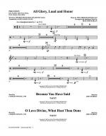 O Love Divine - Percussion Sheet Music