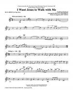 I Want Jesus To Walk With Me - Clarinet (Opt. Soprano Sax) Sheet Music