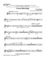 Crown Him King! - Alto Sax (Horn sub) Sheet Music