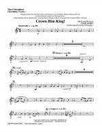 Crown Him King! - Tenor Sax (Trombone 2 sub) Sheet Music