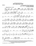 All-American Girl - Drums Sheet Music