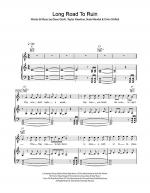 Long Road To Ruin Sheet Music