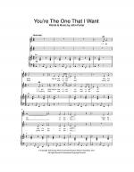 You're The One That I Want Sheet Music