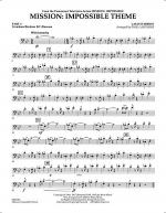 Mission: Impossible Theme - Pt.4 - Trombone/Bar. B.C./Bsn. Sheet Music