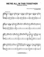 We're All In This Together (Graduation Version) Sheet Music