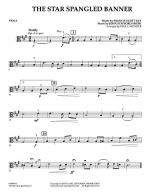 Star Spangled Banner - Viola Sheet Music