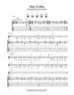 Wire To Wire Sheet Music