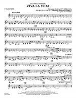 Viva La Vida - Bb Clarinet 3 Sheet Music