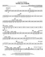 Viva La Vida - Percussion 1 Sheet Music