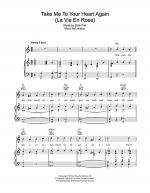 Take Me To Your Heart Again (La Vie En Rose) Sheet Music