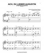 Ach Du Lieber Augustin (O My Dearest Augustine) Sheet Music