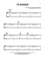 Te Busque Sheet Music