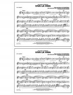 Viva La Vida - Bb Clarinet Sheet Music