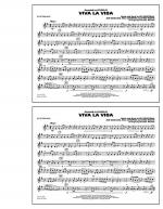 Viva La Vida - Bb Tenor Sax Sheet Music