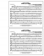 Viva La Vida - Eb Baritone Sax Sheet Music
