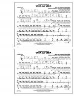 Viva La Vida - Snare Drum Sheet Music